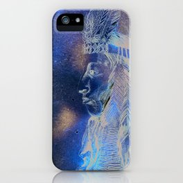 Red Indian iPhone Case