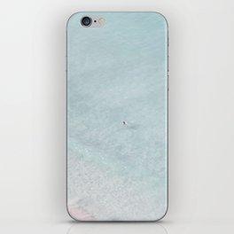beach - the swimmer iPhone Skin