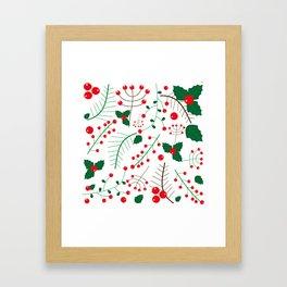 mistletoe Framed Art Print