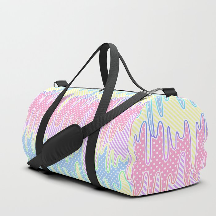 ba94dc42f7 Melty Patterned Slime Duffle Bag by cyleki