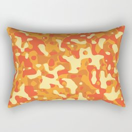 Bright Camouflage Rectangular Pillow