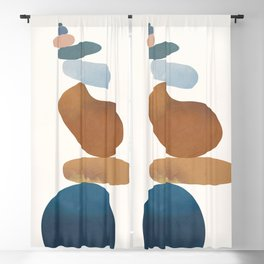 Balancing Stones 30 Blackout Curtain