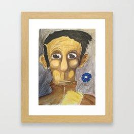Homosapien Framed Art Print