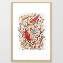 Stray Birds Framed Art Print