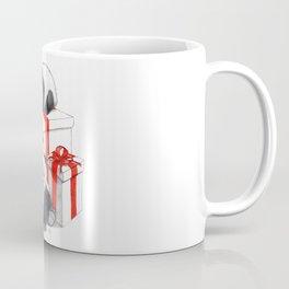 Christmas-Panda's babies g144 Coffee Mug