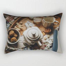 Tea Service Still Life I Rectangular Pillow