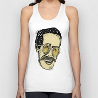 bill murray Tank Tops featuring Bill by Sarah Mould