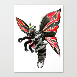 Battra Canvas Print