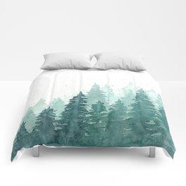 Evergreens Comforters