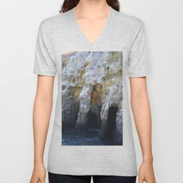 Cliffs of San Diego Unisex V-Neck