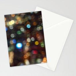 Skytower Bokeh Stationery Cards