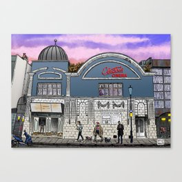 London Cinema Canvas Print