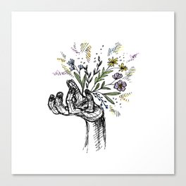 Flower-power Canvas Print