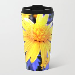 Atomic Daisy Metal Travel Mug