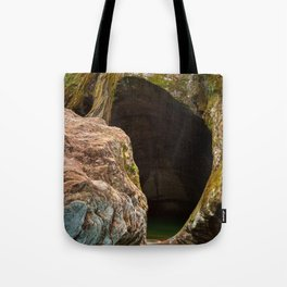 Gobble Rock Cave Tote Bag
