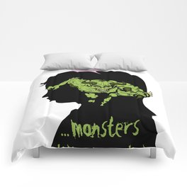 Monsters…hiding in our heads…OPTION Comforters