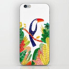 Tucan in the Jungle iPhone Skin