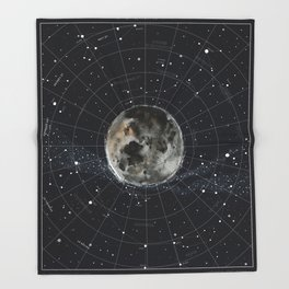 Pathfinder Night Throw Blanket