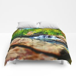 Glade Creek Grist Mill Comforters