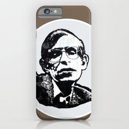 Stephen Hawking iPhone Case