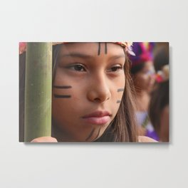 Originating people Metal Print