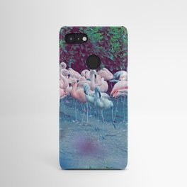 ♢ Pink Flamingos Android Case