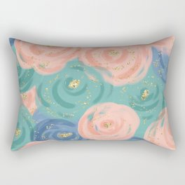 Prim Florals Rectangular Pillow