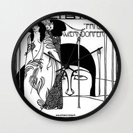 "Koloman (Kolo) Moser ""The Judgement of Paris"" Wall Clock"