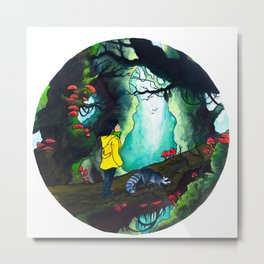 The enchanted forest Metal Print