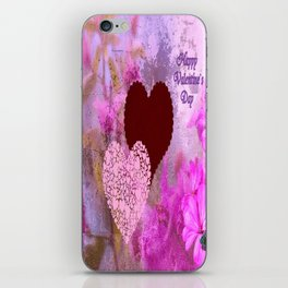 Happy Valentine`s Day iPhone Skin