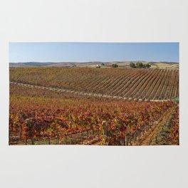 Alentejo vineyard, Portugal Rug