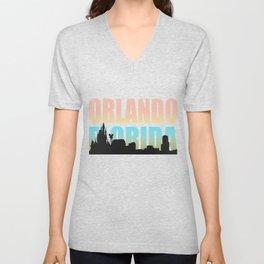 Orlando Florida Unisex V-Neck
