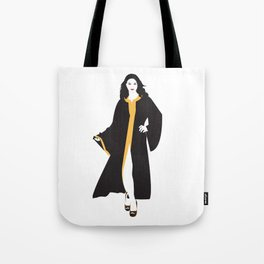 Mystique White Woman Tote Bag