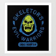 Bad Boy Club: Skeletor's Evil Warriors  Art Print