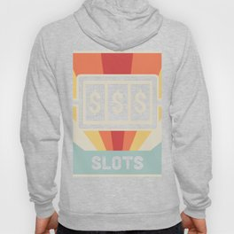 Vintage Style Slot Machine Design Hoody