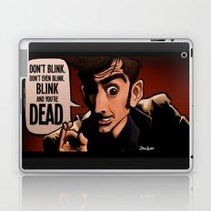 Don't Blink Laptop & iPad Skin