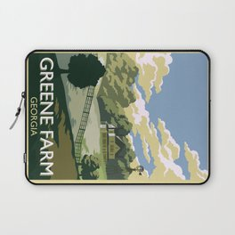 Greene Farm, GA / The Walking Dead Laptop Sleeve