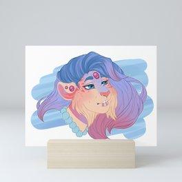 Sedna Headshot Sketch Mini Art Print