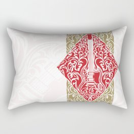 Resonate Bridge | Ace of Diamonds Rectangular Pillow