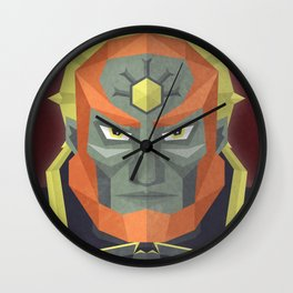 The King of Darkness Wall Clock