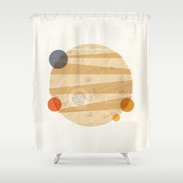 Jupiter I Shower Curtain