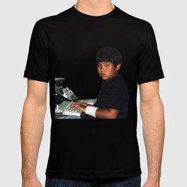 Hardcore coder with wrist band T-shirt
