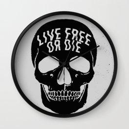 Live Free or Die Wall Clock