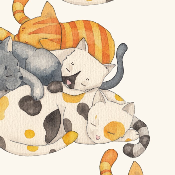 Cat Nap (Siesta Time) Leggings