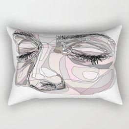 I'm waiting Rectangular Pillow