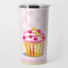 Cupcake Love Travel Mug