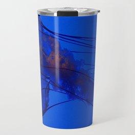 Fluorescing Jellyfish Travel Mug