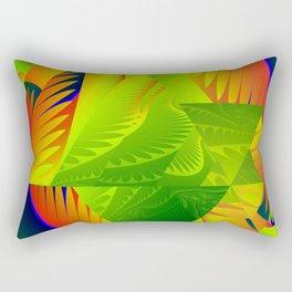 Great Green Frac 2 Rectangular Pillow