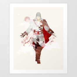 Assassins Creed: Ezio Auditore da Firenze Art Print