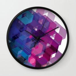 3D-blocks Wall Clock